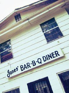Jones' Bar-B-Q Diner. My hometown:)