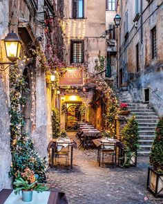 Outdoor cafe in Italy Outdoor cafe in Italy,Travel aesthetic travel italy inspo places Oh The Places You'll Go, Places To Travel, Places To Visit, Travel Destinations, Tourist Places, Café Exterior, Outdoor Cafe, Travel Aesthetic, Adventure Is Out There
