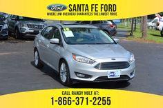2018 Ford Focus Titanium FWD Sedan For Sale Gainesville FL - 39403P Santa Call, Ford Focus