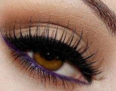 Idea trucco occhi marroni