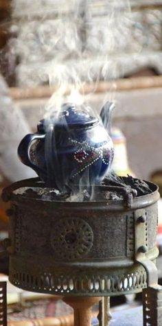 Tea on the streets.