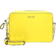 Calvin Klein SOFIE Torba na ramię sun/artic white zalando zolty bez wzorów/nadruków