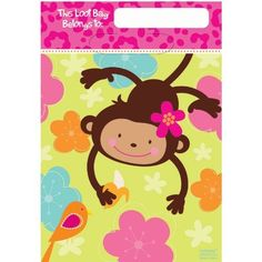 Monkey Love Folded Loot Bags by AMSCAN *, http://www.amazon.com/dp/B00767PPVY/ref=cm_sw_r_pi_dp_8HFyqb0QH374E