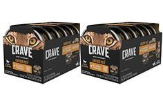 Crave Grain Free High Protein Chicken Pate Multipack Wet Cat Food Tray 12 Twin Packs 2 6 Oz Each Thanks A Lot For Wet Cat Food Natural Cat Food Wet Dog Food