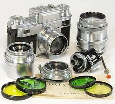 Contax III - Antique and Vintage Cameras #cameraequipment