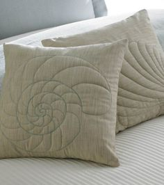 #Craft this relaxing seaside inspired pillow to rest your weary head! Visit Joann.com or Jo-Ann Fabric and Crafts for supplies.
