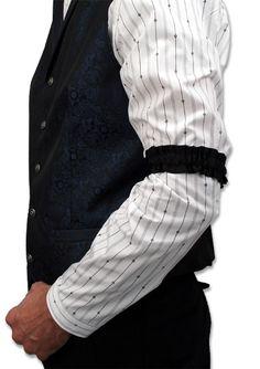 """en anglais """"sleeve garter"""""""