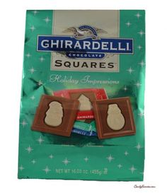 Ghirardelli Holiday Impressions Chocolate Squares - Milk & White, and Milk & Dark. **Not all Ghir. squares - some have TBHQ in the pkg ** Can get at Walgreens or Target. Good stocking stuffer or gift for teachers. Chocolate Squares, White Chocolate, Dye Free Foods, Super Target, Christmas Squares, Adhd Strategies, Ghirardelli Chocolate, Best Stocking Stuffers, Holiday Candy