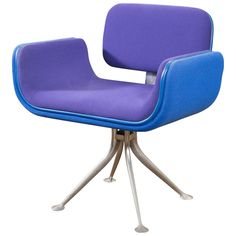 Alexander Girard Armchair | From a unique collection of antique and modern armchairs at http://www.1stdibs.com/furniture/seating/armchairs/