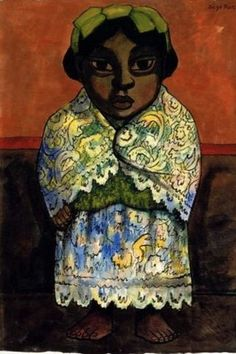 Learn more about Portrait of a Girl Diego Rivera - oil artwork, painted by one of the most celebrated masters in the history of art. Diego Rivera Art, Diego Rivera Frida Kahlo, Frida And Diego, Latin Artists, Mexican Artists, Famous Artists, Statues, Self Portrait Art, Latino Art