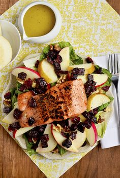 Autumn Salmon Salad