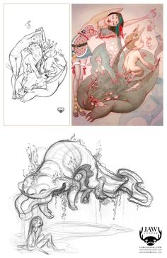 :::JAW Cooper Illustration - another talented SOB that i am incredibly excited about. very james jean-esque:::