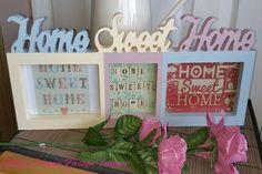 ♥♥ Custom Designed Solid Wood  Home Sweet Home  Photo Frame ♥♥