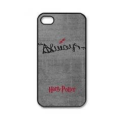 Harry Potter Pattern Plastic Hard Case Cover for iPhone 4/4S – USD $ 3.99
