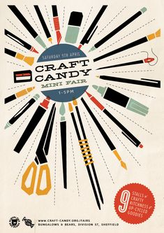 Craft Fair Flyer Craft candy mini fair