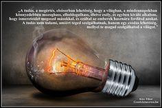 Idézet a tudásról, a tudás fontosságáról.