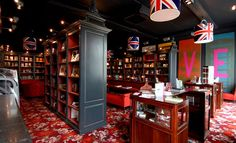 Cook & Book bookstore in Brussels, Belgium. I am absolutely going here.