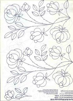 vintage crewel embroidery patternsvintage transfer patterns for embroidery Mexican Embroidery, Hungarian Embroidery, Embroidery Works, Embroidery Transfers, Embroidery Needles, Hand Embroidery Patterns, Vintage Embroidery, Ribbon Embroidery, Floral Embroidery
