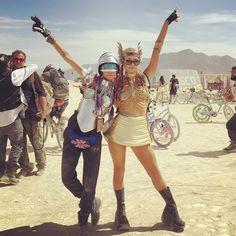 Insta-Hits: Burning Man 2016 | British Vogue