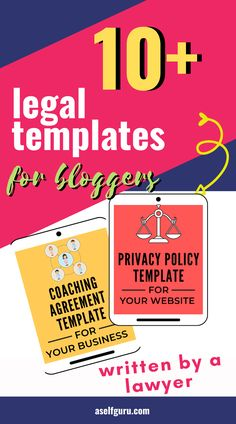 Are you making these 3 legal mistakes with on your blog? How to protect your blog! Why you need to ditch the free privacy policy. To protect your blog legally, you need a privacy policy, disclaimer, and terms and conditions on your blog. Here's how to draft up these legal documents. Email Marketing Services, Content Marketing, Affiliate Marketing, Internet Marketing, Creating A Business, Business Tips, Online Business, Make Money Blogging, How To Make Money