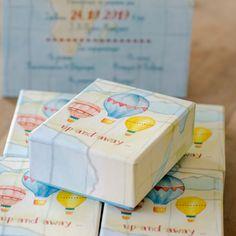 Κουτάκι για μπομπονιέρα Βάπτισης Up And Away Boxes, Container, Luxury, Food, Crates, Essen, Box, Meals, Cases