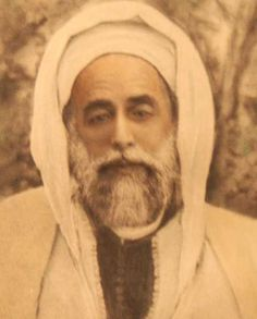Mawlana Sidi Ahmed Ibn Mustafa Al Alawi Al Mostghanmi of the Shadili Darqawi Alawi Sufi Tariqa