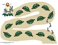 Palm Sunday Printable Game - I could see our church using this during Lent for #childrensministry or in #sundayschool.