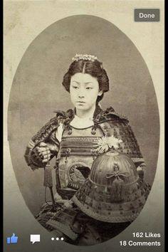 Real life Mulan Female samurai