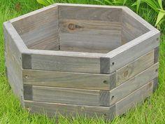 How to Make a Hexagonal Wooden Planter