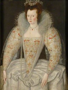 Portrait of a Lady  by unknown artist    Oil on panel, 105.5 x 79 cm  Collection: University of Oxford. Bodleian Libraries, University of Oxford