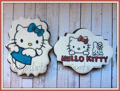 Galletas Hello Kitty pintadas a mano