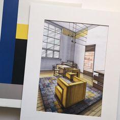 #interior #WalterGropius #bauhaus #bauhausdesign #design #sketch #sketching #drawing #markers #arch_more #arquitetapage #arqsketch #archisketcher #bestsketch #arq_sketch #ar_sketch #arch_sketch #art #дизайн #интерьер #маркеры #эскиз
