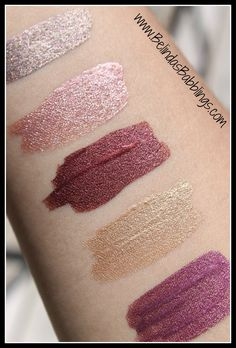 Up Close Swatches Dior Addict Fluid Shadows Fall 2015 Collection