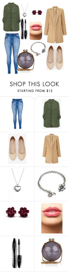 """""""Untitled #111"""" by pinguinqueen ❤ liked on Polyvore featuring City Chic, Zara, Express, Miss Selfridge, Pandora, Sweet Romance, LASplash, Lancôme, mens and men"""