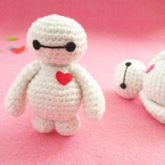 Crochet For Children: Baymax Amigurumi Free Pattern