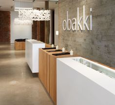 One of our favourite local fashion shops in Vancouver Obakki—this ecological space was designed by Designer of the Year finalist Brent Comber. #DOTY