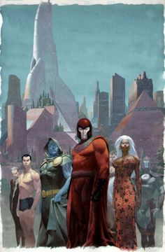 Cover to House Of M #6 Cover Art by Esad Ribic - Comic Book Images Gallery