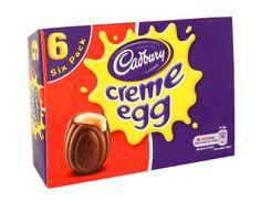 Cadbury; Creme egg. A box of six Cadbury Creme Eggs. #easter2014 #cadbury