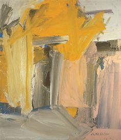 """""""door to the river"""" by willem de kooning 1960."""