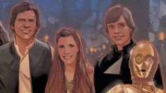 First Art for Marvel's 'Star Wars: The Force Awakens' Prequel Released :)