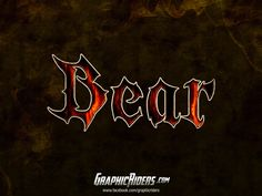 GraphicRiders | Fantasy style – Bear (free photoshop layer style, text effect) #graphicriders  #freebies  #layerstyle  #photoshopstyle  #fantasy