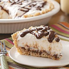 Sundae Pie Recipe Desserts with light corn syrup, butter, brown sugar ...