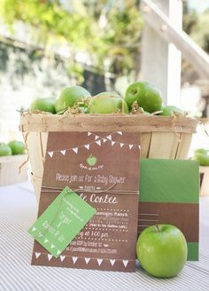 """Rustic """"Apple of My Eye"""" party"""