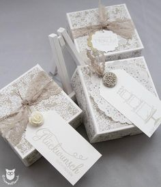 """Stampin`Up! Fold Over Box mit DSP """"Trau Dich"""""""