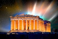 Simple Minds, Ancient Greece, Civilization, Northern Lights, History, Travel, Flowers, Projects, Historia
