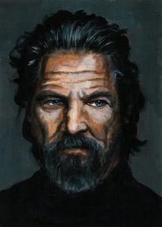 Jeff Bridges by Kozerrka