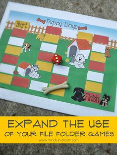 Minds in Bloom: Expand the Use of Your File Folder Games!