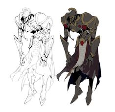 Game Character Design, Fantasy Character Design, Character Design Inspiration, Character Concept, Character Art, Knight Drawing, Knight Art, Monster Design, Monster Art