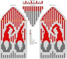 Жаккардовое Вязание Babby Crochet C Crochet - Diy Crafts Knitted Mittens Pattern, Fair Isle Knitting Patterns, Knit Mittens, Knitting Charts, Knitting Socks, Cross Stitch Tree, Cross Stitch Patterns, Diy Crafts Crochet, Knitting Accessories