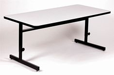 Correll CSA244815 Computer  Training Table Gray GraniteBlack >>> Want to know more, click on the image.Note:It is affiliate link to Amazon.